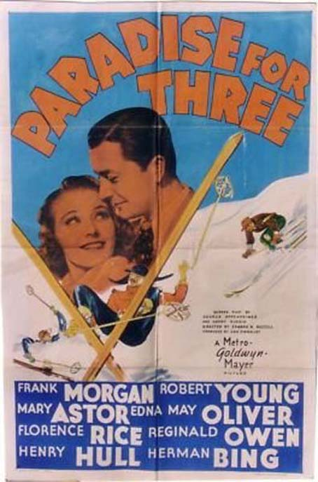 Robert Young and Florence Rice in Paradise for Three (1938)