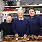 Michael Parkinson, James Martin, and Kenny Atkinson in Saturday Morning with James Martin (2017)