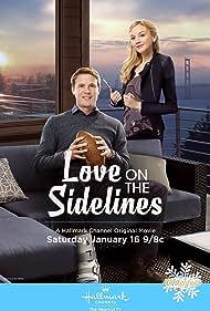 John Reardon and Emily Kinney in Love on the Sidelines (2016)