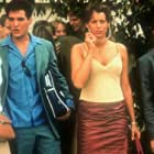 Paul T. Grasshoff, Maximilian Grill, Kristen Miller, and Elena Uhlig in Swimming Pool - Der Tod feiert mit (2001)
