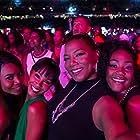 Jada Pinkett Smith, Queen Latifah, Regina Hall, and Tiffany Haddish in Girls Trip (2017)