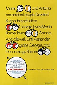 A Severed Head (1971) Poster - Movie Forum, Cast, Reviews