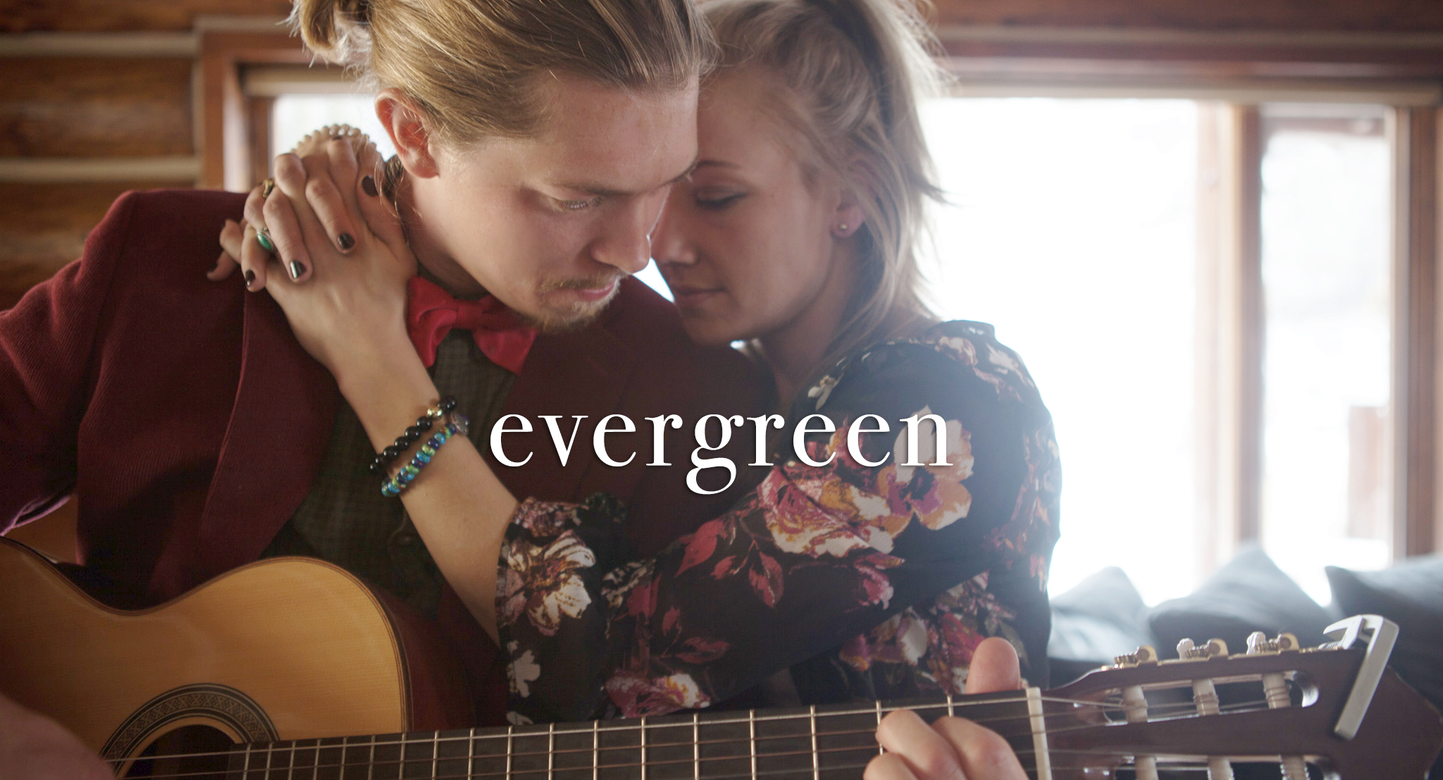 Amanda Maddox and Tanner Kalina in Evergreen (2019)