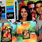 Prabhu Deva, Akshay Kumar, and Sonakshi Sinha at an event for Rowdy Rathore (2012)