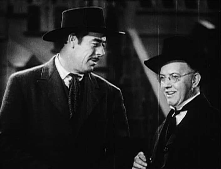 Milton Kibbee and Glenn Strange in Billy the Kid Trapped (1942)