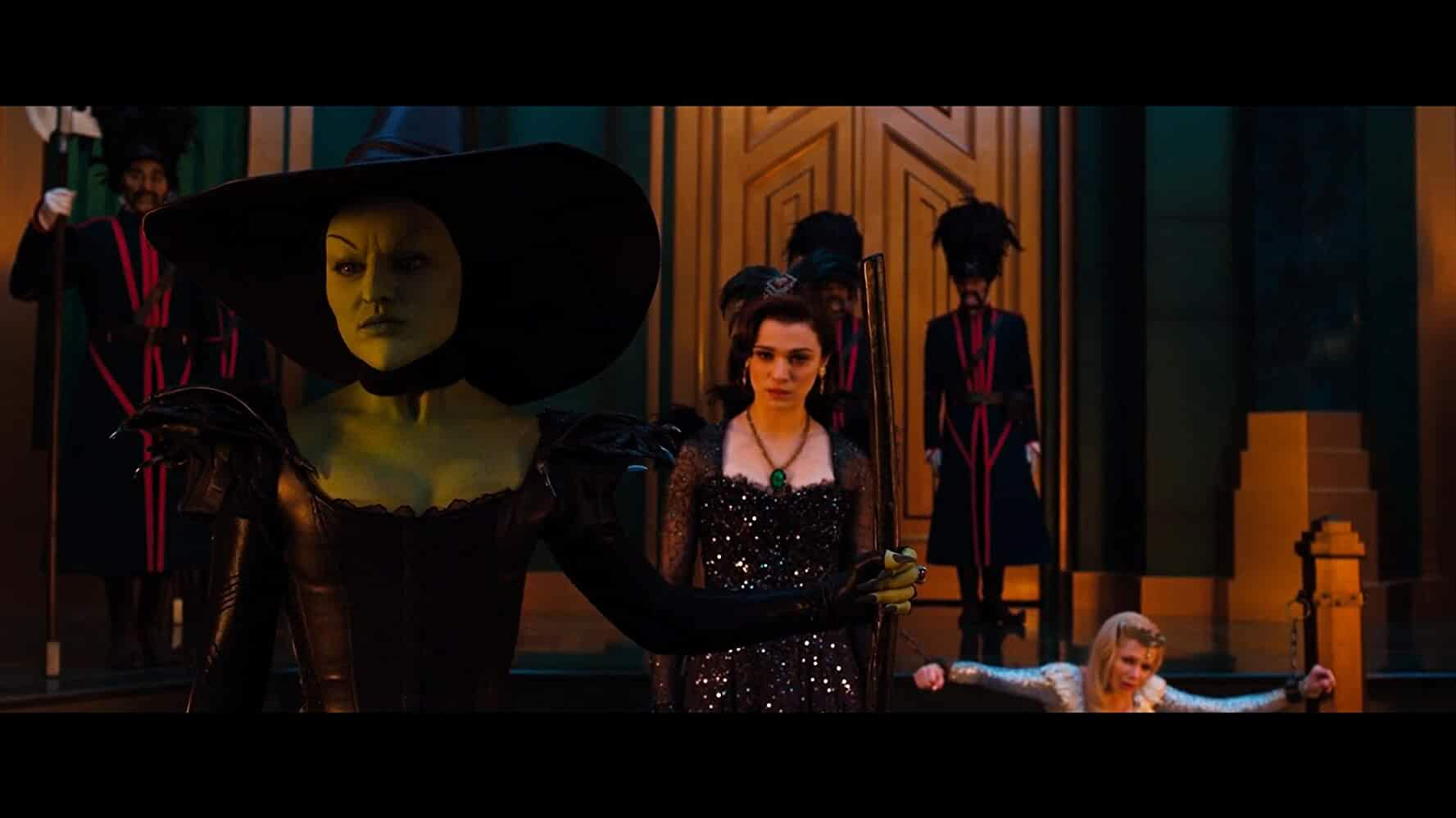 Rachel Weisz, Mila Kunis, and Michelle Williams in Oz the Great and Powerful (2013)