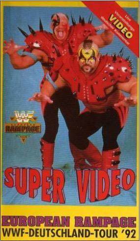 Mike Hegstrand and Joe Laurinaitis in WWF Deutschland Tour '92 (1992)