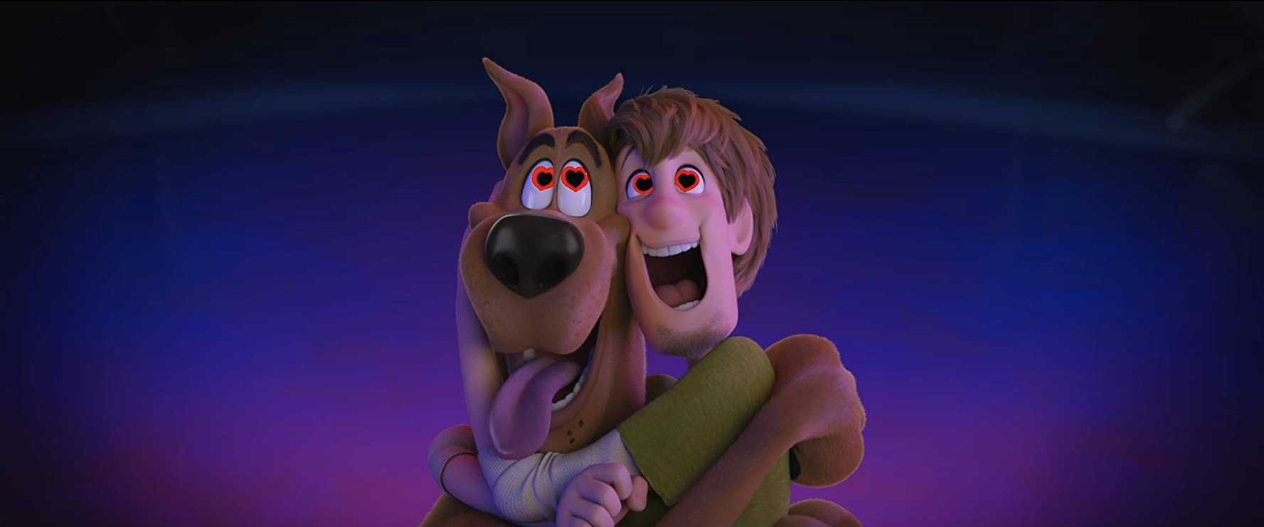 Will Forte and Frank Welker in Scoob! (2020)