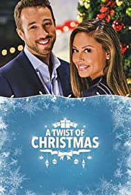 Vanessa Lachey and Brendon Zub in A Twist of Christmas (2018)