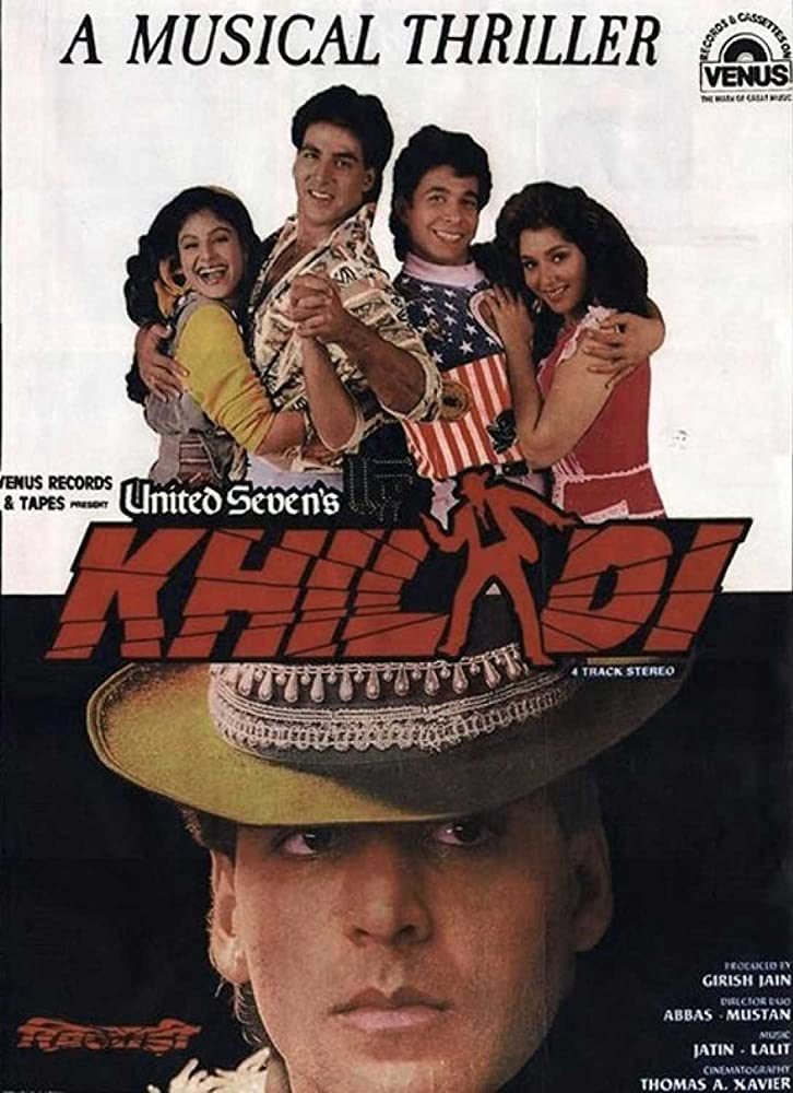 Khiladi (1992) Hindi