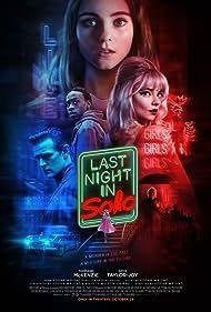 Matt Smith, Michael Ajao, Thomasin McKenzie, and Anya Taylor-Joy in Last Night in Soho (2021)