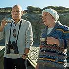 Patrick Stewart and Adrian Scarborough in Blunt Talk (2015)