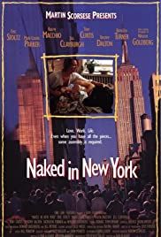 Naked in New York Poster
