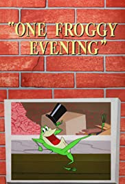 One Froggy Evening Poster