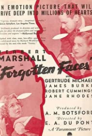 Herbert Marshall and Gertrude Michael in Forgotten Faces (1936)