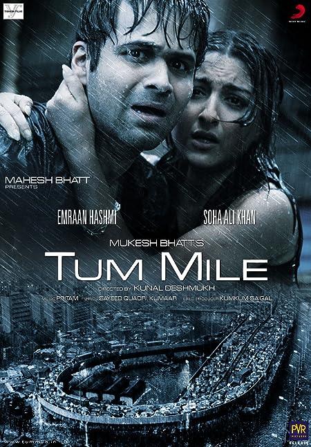 Tum Mile (2009) Hindi WEB-DL - 1080P - x264 - 7.7GB - Download & Watch Online  Movie Poster - mlsbd