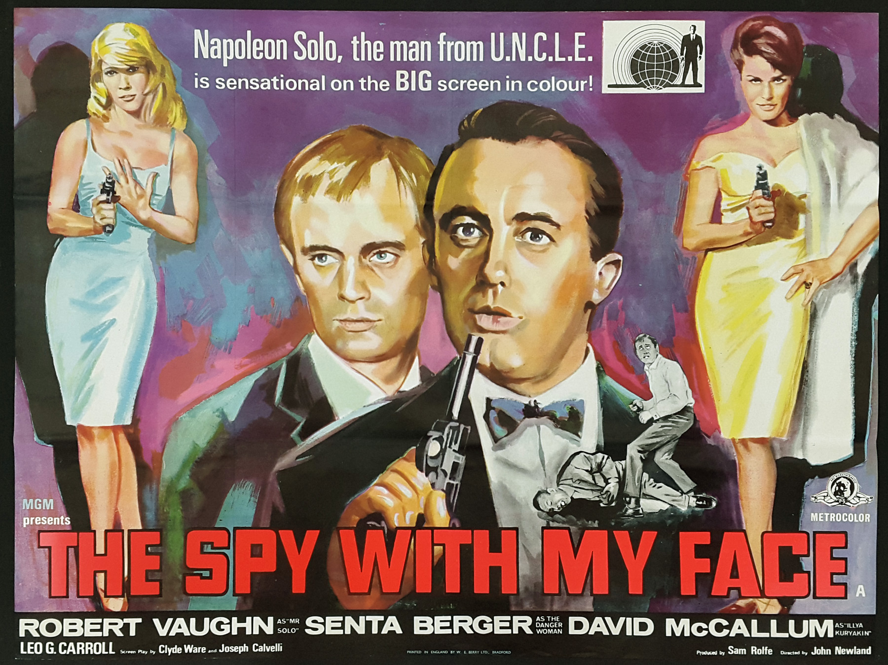 The Spy With My Face (1965) – Adventure, Comedy, Crime