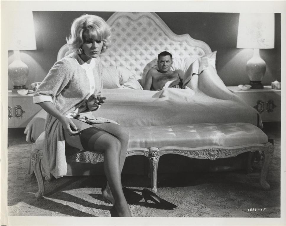 Glenn Ford and Elke Sommer in The Money Trap (1965)
