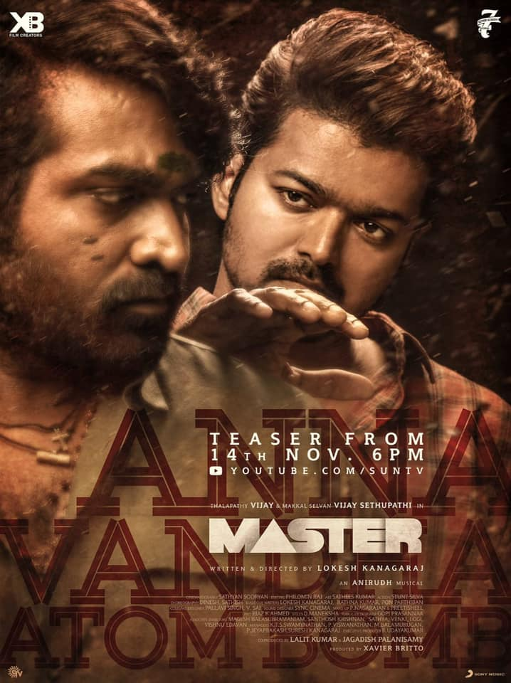 Download Master 2021 Tamil 1080p DVDScr 2.5GB