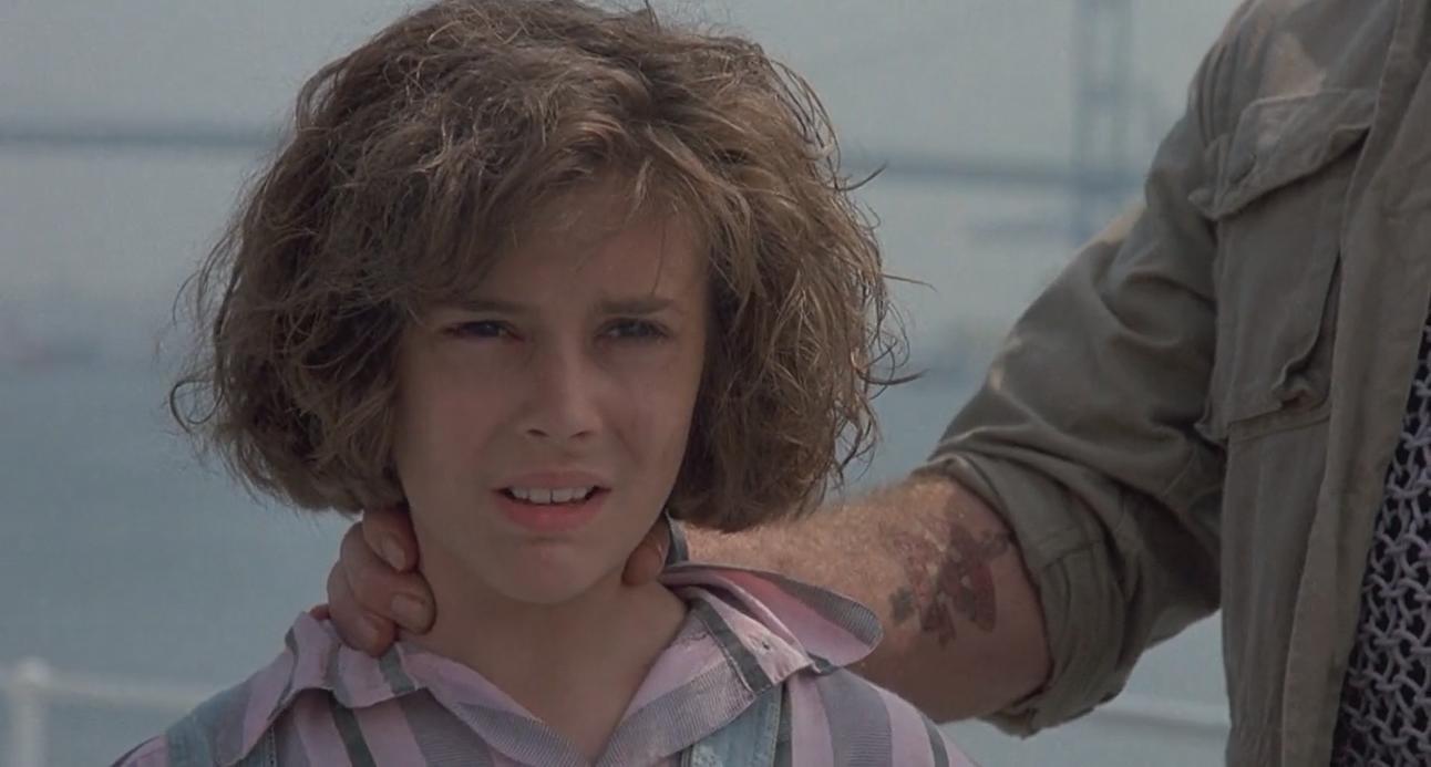 Alyssa Milano in Commando (1985)