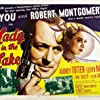 Robert Montgomery, Audrey Totter, and Tom Tully in Lady in the Lake (1946)
