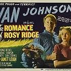Janet Leigh, Van Johnson, and Jim Davis in The Romance of Rosy Ridge (1947)