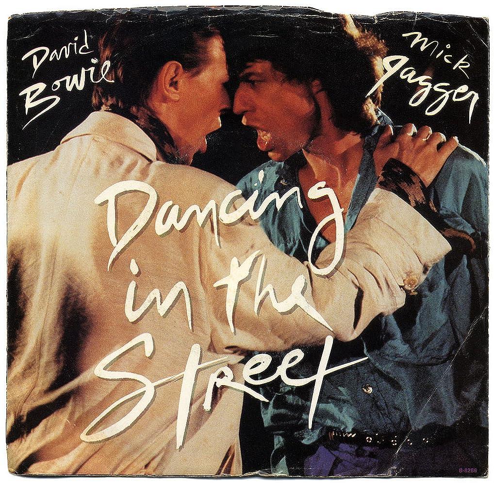 Αποτέλεσμα εικόνας για dancing in the street david bowie