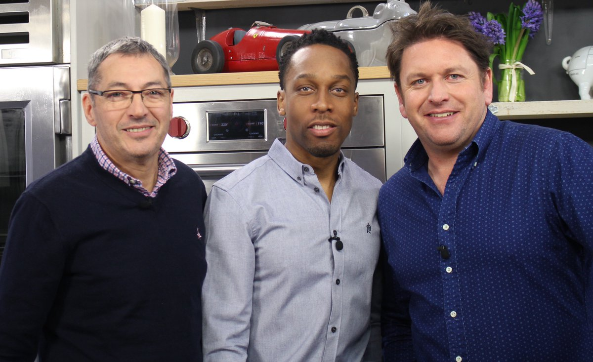 James Martin, Lemar, and Daniel Galmiche in Saturday Morning with James Martin (2017)