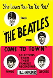 The Beatles Come to Town Poster