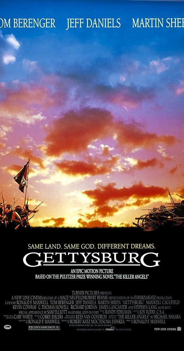Subtitle of Gettysburg