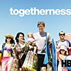 Melanie Lynskey, Amanda Peet, Mark Duplass, Steve Zissis, and Abby Ryder Fortson in Togetherness (2015)