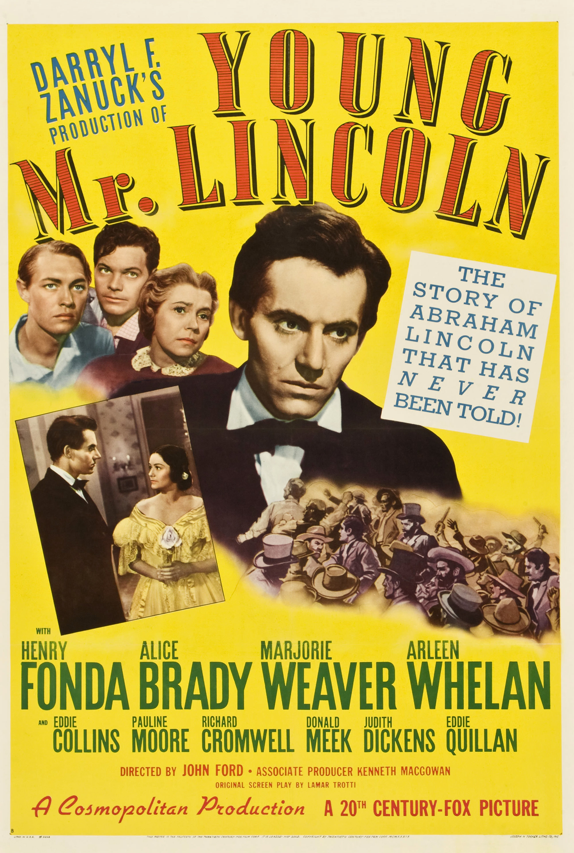Image result for actor henry fonda in young abe lincoln