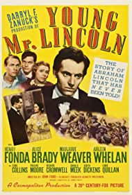 Henry Fonda, Alice Brady, and Marjorie Weaver in Young Mr. Lincoln (1939)