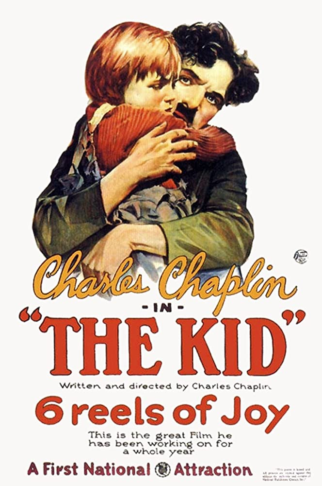 Charles Chaplin and Jackie Coogan in The Kid (1921)