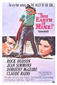 Rock Hudson and Jean Simmons in This Earth Is Mine (1959)