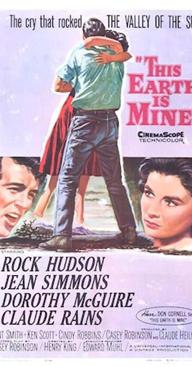 All the way home Jean Simmons vintage movie poster