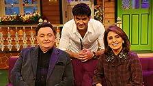 Rishi Kapoor & Neetu Singh in Kapil's House