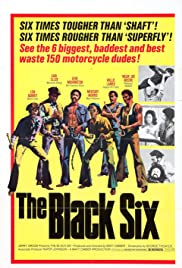 The Black 6 (1973) starring Robert Howard on DVD on DVD