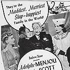 June Havoc, Adolphe Menjou, Pola Negri, and Martha Scott in Hi Diddle Diddle (1943)
