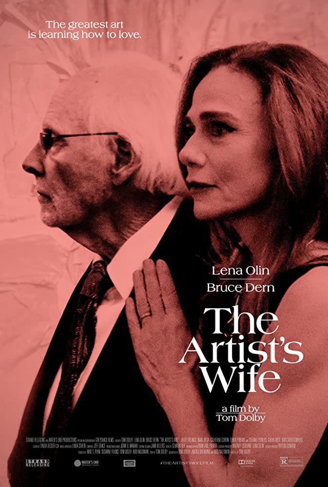 Lena Olin and Bruce Dern in The Artist's Wife (2019)