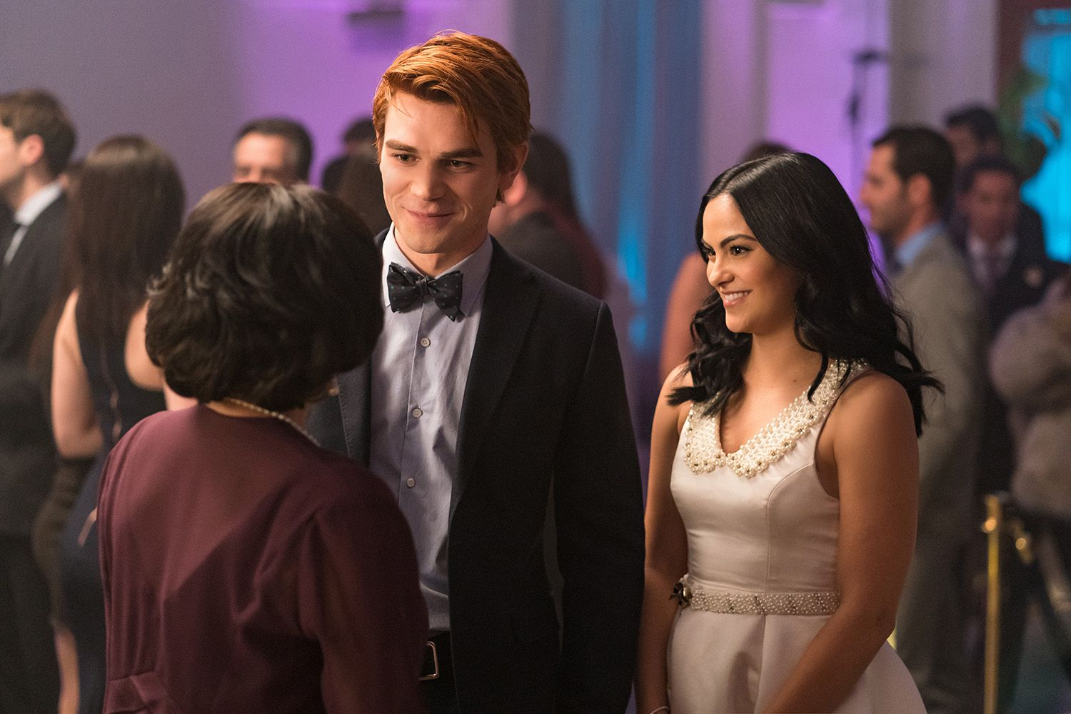 Camila Mendes and K.J. Apa in Riverdale (2016)