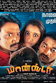 S.J. Suryah, Karunakaran, and Priya Bhavani Shankar in Monster (2019)