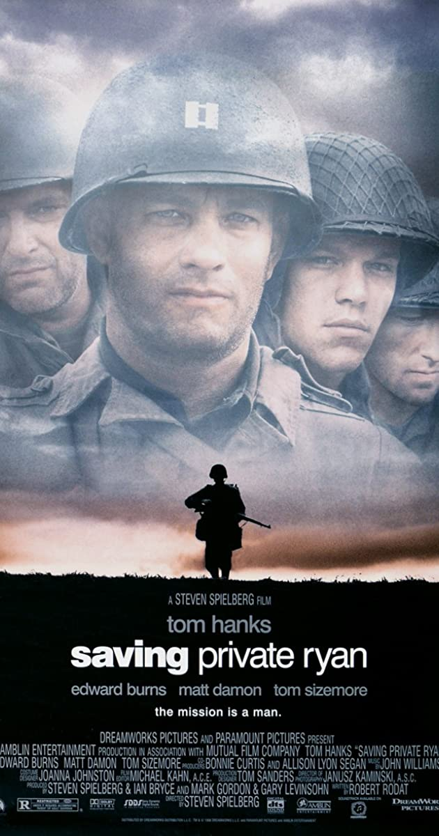 Subtitle of Saving Private Ryan