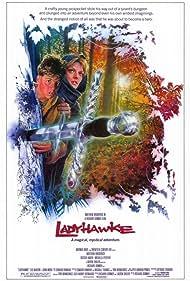 Matthew Broderick and Michelle Pfeiffer in Ladyhawke (1985)