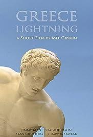 Greece Lightning Poster