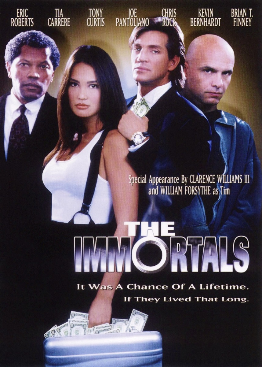 Tia Carrere, Eric Roberts, Joe Pantoliano, and Clarence Williams III in The Immortals (1995)
