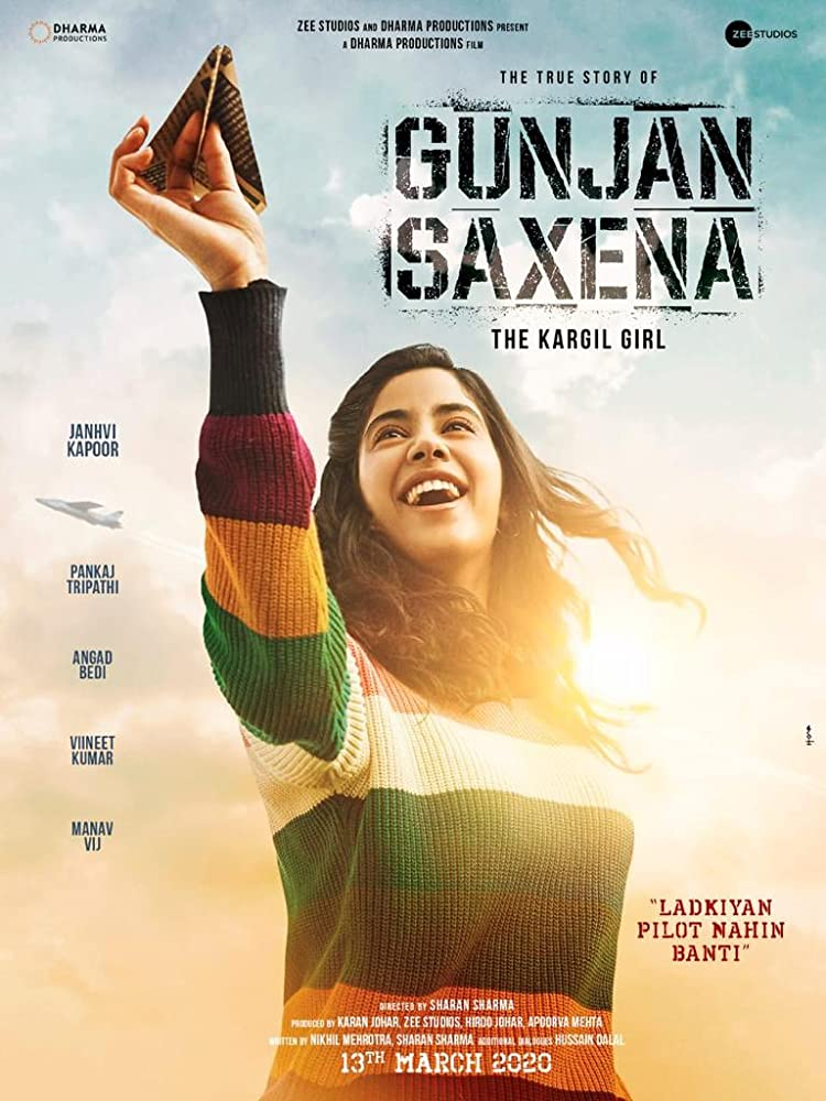 Gunjan Saxena The Kargil Girl 2020