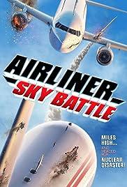 Airliner Sky Battle Poster