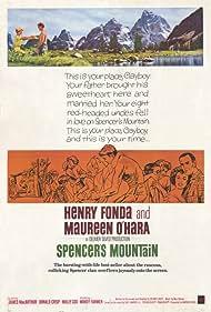 Henry Fonda, Maureen O'Hara, Mimsy Farmer, and James MacArthur in Spencer's Mountain (1963)