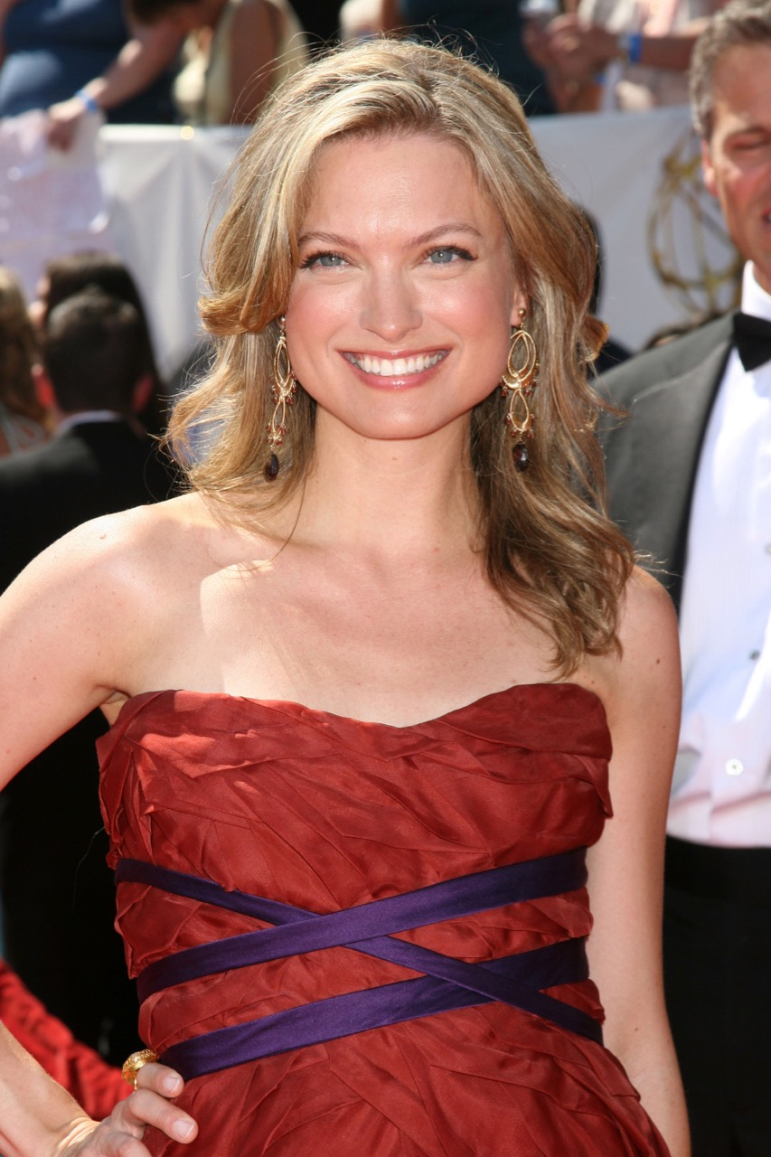 Nicole Forester - Lead Actress Nominee - 35th Annual Daytime Emmy Awards at the Kodak Theatre - arrivals Los Angeles, California - 20.06.08